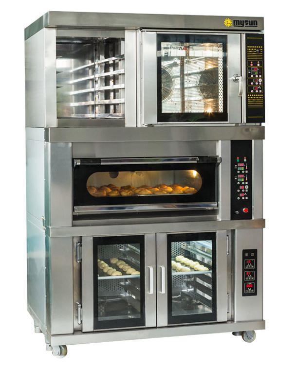 面包店用烘焙组合炉